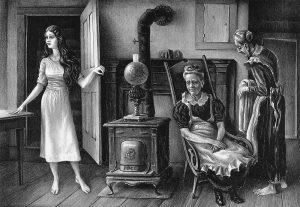 women in home
