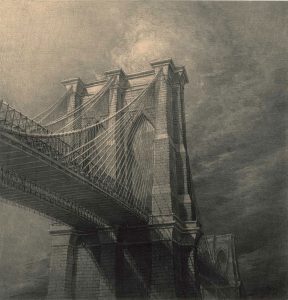 Brooklyn Bridge from below