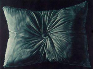 wrinkled pillow